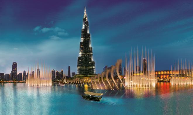 Dubai- Συντριβάνι